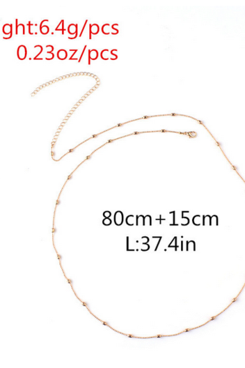 Fashion women sexy waist chain simple sexy waist chain